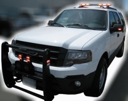 Why do emergency vehicle outfitters choose LED lights?