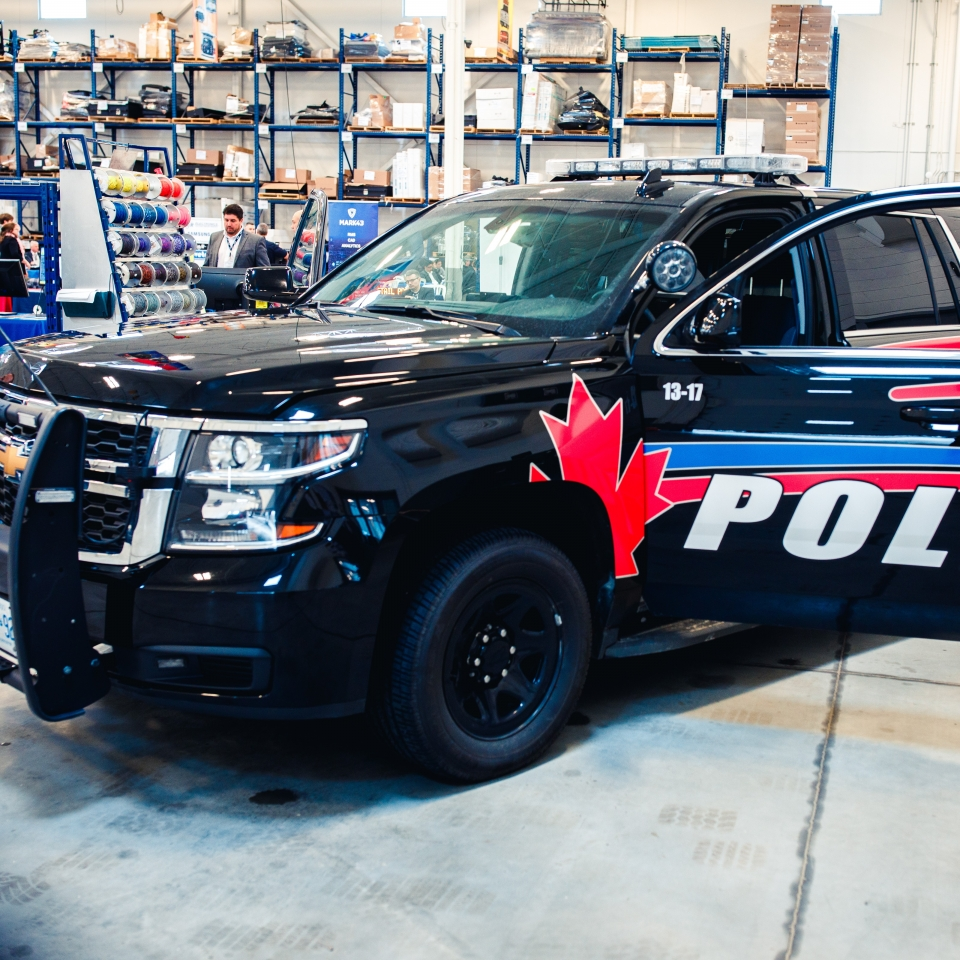The Most Popular Police Vehicle